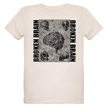 Broken brain Organic Kids T-Shirt