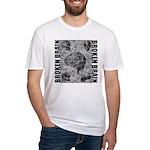 Broken brain Fitted T-Shirt