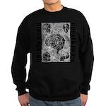 Broken brain Sweatshirt (dark)