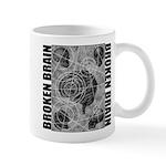 Broken brain Mug