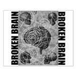 Broken brain Small Poster