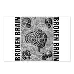 Broken brain Postcards (Package of 8)