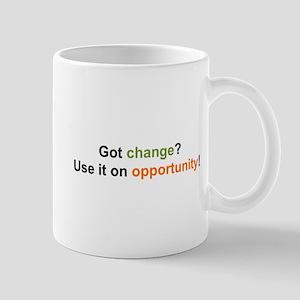 Change and Opportunity Mug