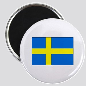 Cheer on Sweden's Soccer Team Magnet