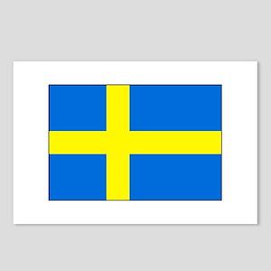 Cheer on Sweden's Soccer Team Postcards (Package o