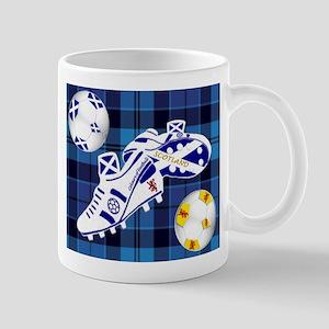 Scottish white football boots Mug