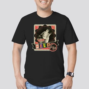 Help the Endangered Gray Wolf Men's Fitted T-Shirt