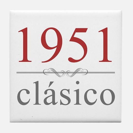 Classic 1951 Tile Coaster