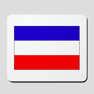 Serbia-Montenegro flag Mousepad