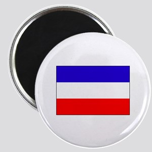 Serbia-Montenegro flag Magnet