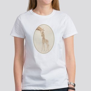 mom & baby giraffe T-Shirt