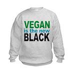 Vegan is the New Black Kids Sweatshirt
