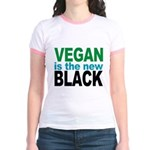 Vegan is the New Black Jr. Ringer T-Shirt