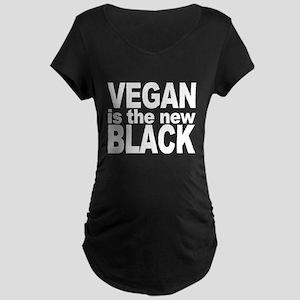 Vegan is the New Black Maternity Dark T-Shirt