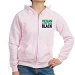 Vegan is the New Black Women's Zip Hoodie