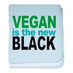 Vegan is the New Black baby blanket