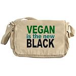 Vegan is the New Black Messenger Bag