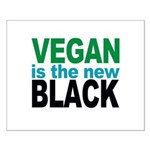 Vegan is the New Black Small Poster