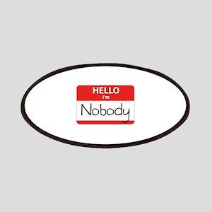 Hello I'm Nobody Patches