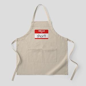 Hello I'm Short Apron