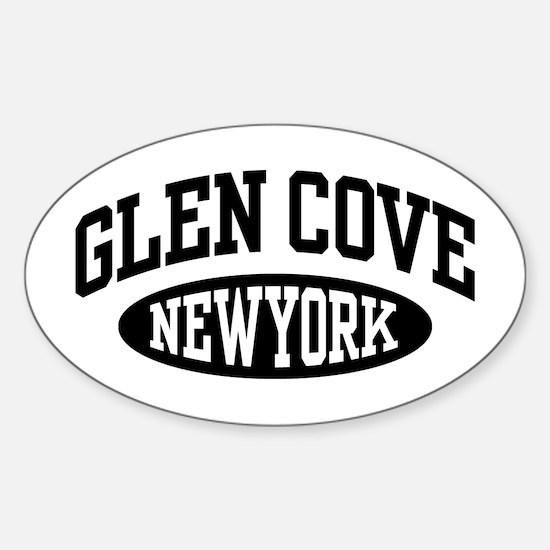 Glen Cove Sticker (Oval)