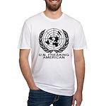 U.N. FREAKING AMERICAN Fitted T-Shirt