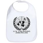 U.N. FREAKING AMERICAN Bib