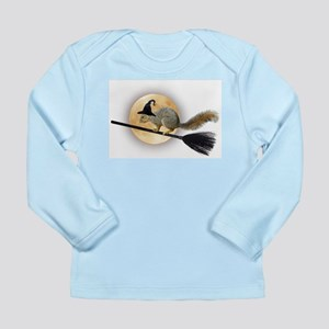 Witch Squirrel Long Sleeve Infant T-Shirt