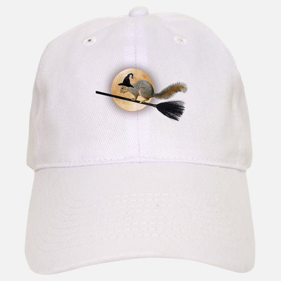Witch Squirrel Baseball Baseball Cap