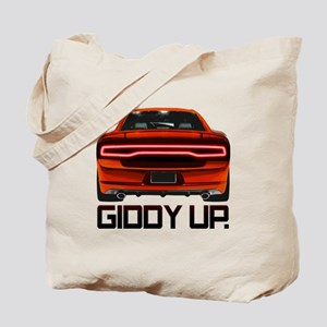 Charger - Giddy Up Tote Bag