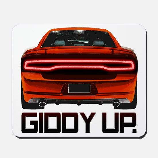 Charger - Giddy Up Mousepad