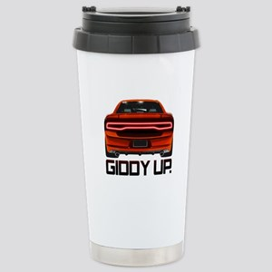 Charger - Giddy Up Stainless Steel Travel Mug