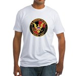 U.S. Border Patrol Fitted T-Shirt