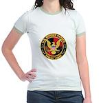U.S. Border Patrol Jr. Ringer T-Shirt