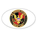 U.S. Border Patrol Oval Sticker