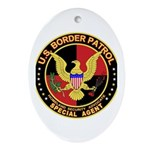 U.S. Border Patrol Oval Ornament