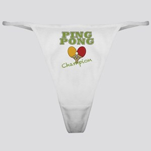 Ping Pong Champ Classic Thong