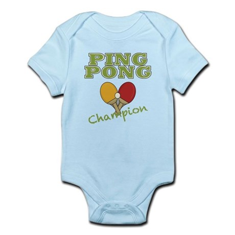 Ping Pong Champ Infant Bodysuit