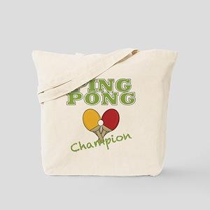Ping Pong Champ Tote Bag
