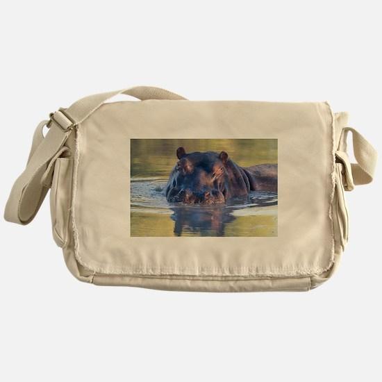 Hippo Messenger Bag