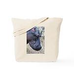 Hippo Profile Tote Bag