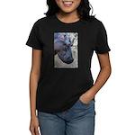 Hippo Profile Women's Dark T-Shirt