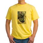 Hippo Profile Yellow T-Shirt
