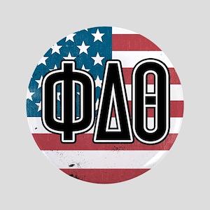 Phi Delta Theta Flag Button