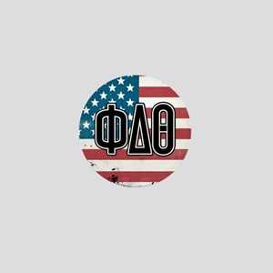 Phi Delta Theta Flag Mini Button