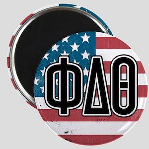 Phi Delta Theta Flag Magnet