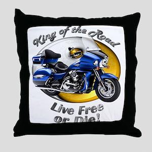 Kawasaki Voyager Throw Pillow