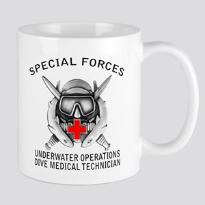 Diving Medical Technician w/ Mug