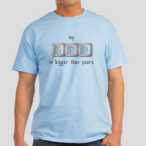 My APM is Bigger Light T-Shirt