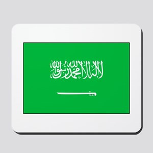 Saudi Arabian Flag Mousepad